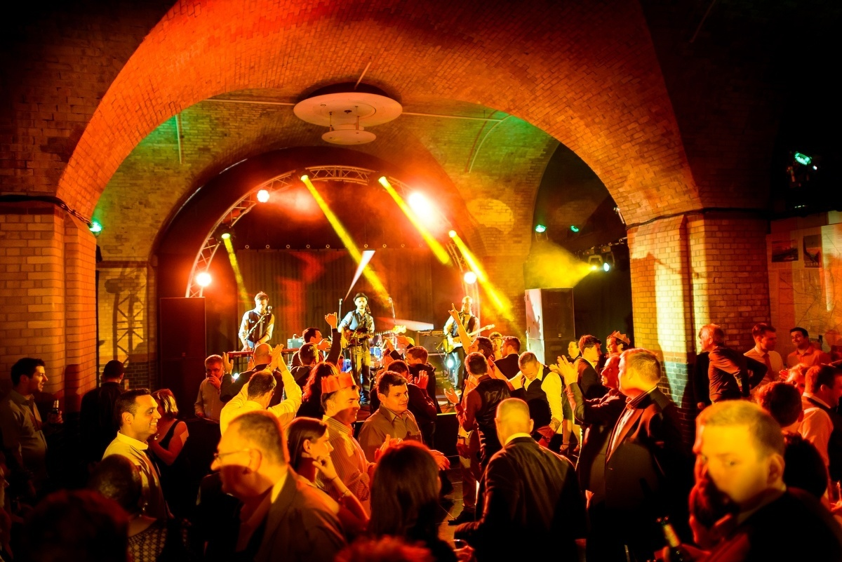party at old billingsgate vaults