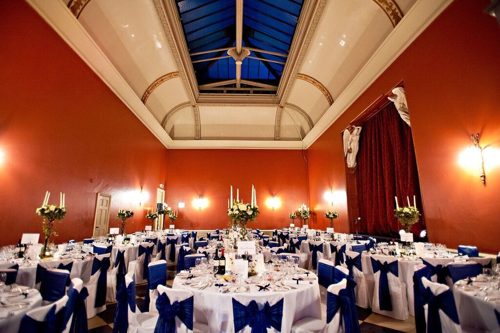 dinning room at hampton court house wedding venue