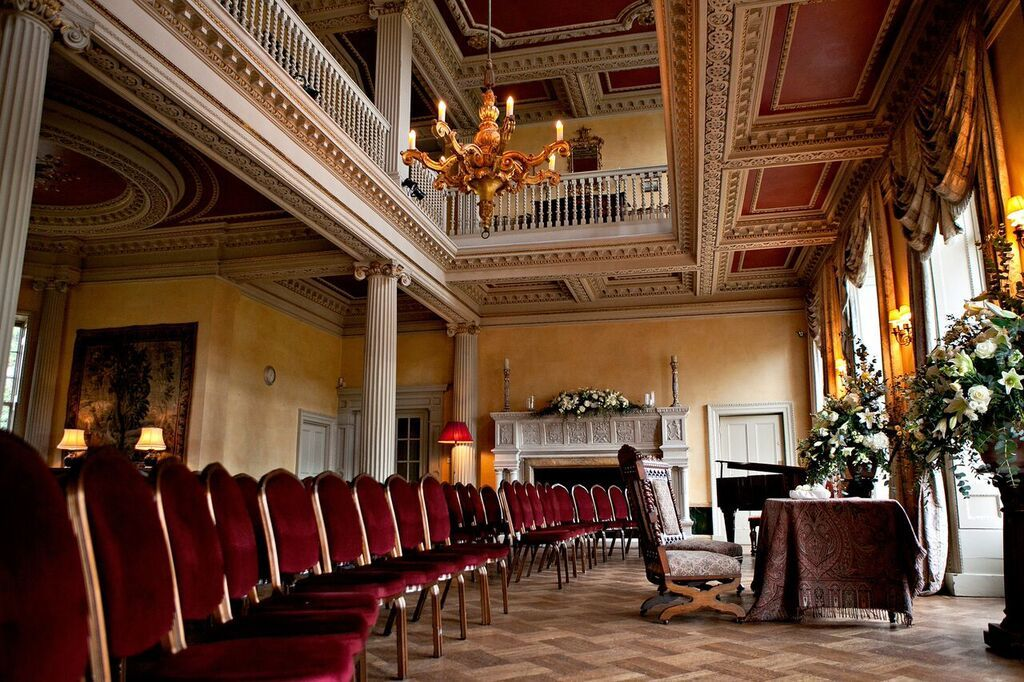 main hall at hampton court house venue