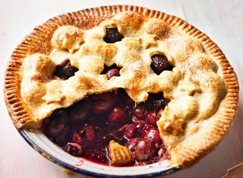 Vanilla Cherry Pie