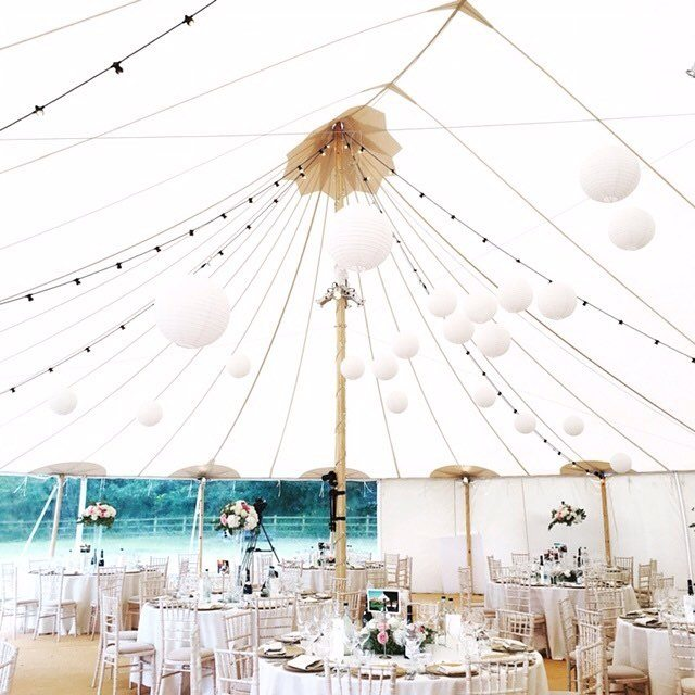 The stunning @papakata marquee for a wedding we catered this weekend.