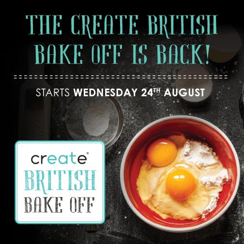 The #CreateBakeOff is back