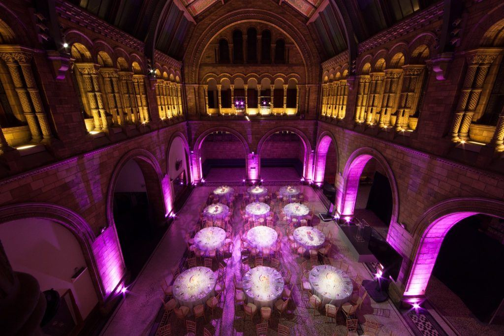 Natural History Museum Wedding Venue Cost