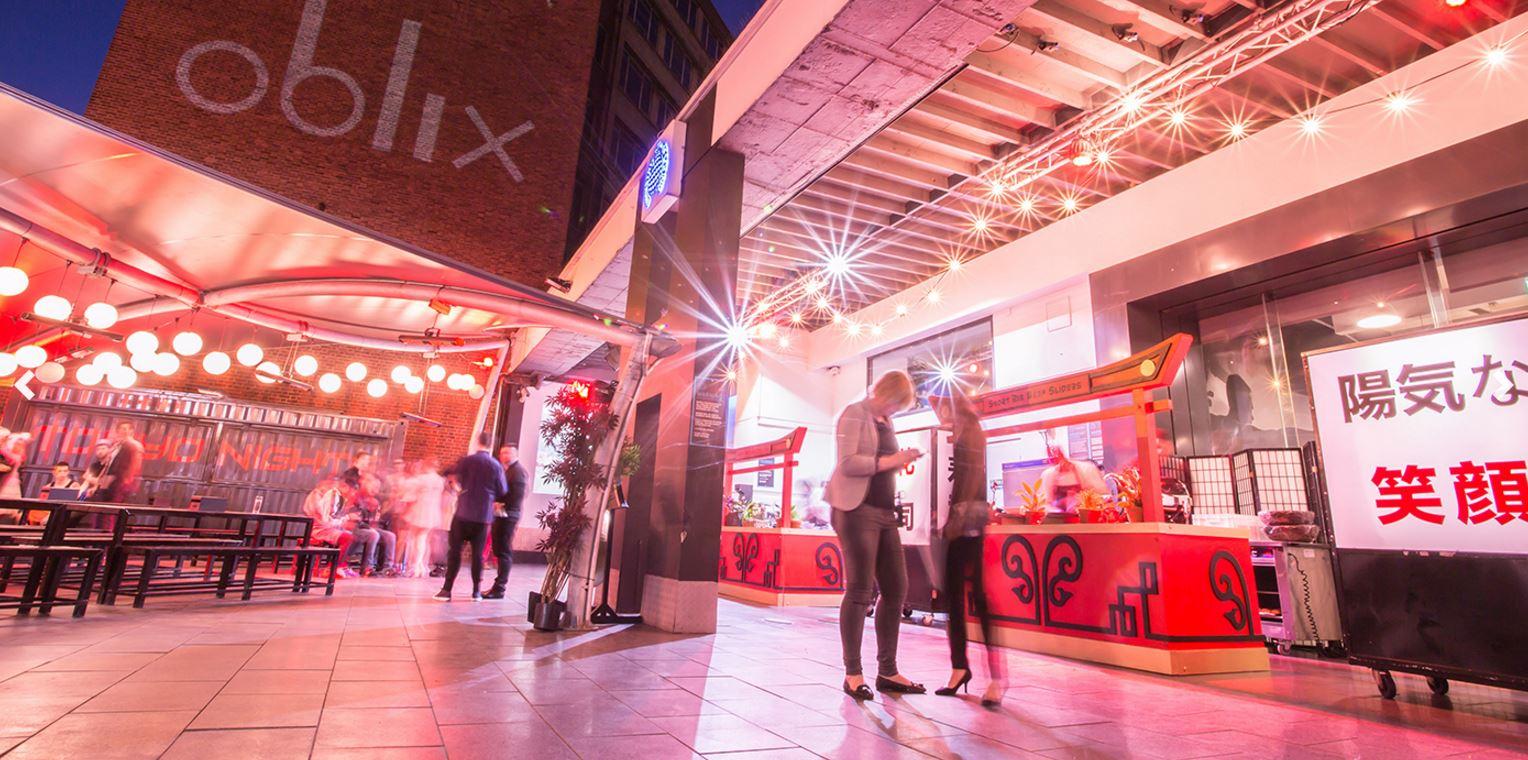 Ministry of Sound Venue Hire   Iconic London Venue   Create Food