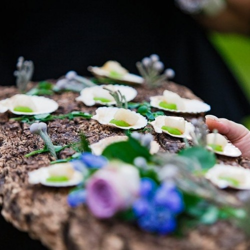 Wedding Canapes | Create Weddings at Syon Park