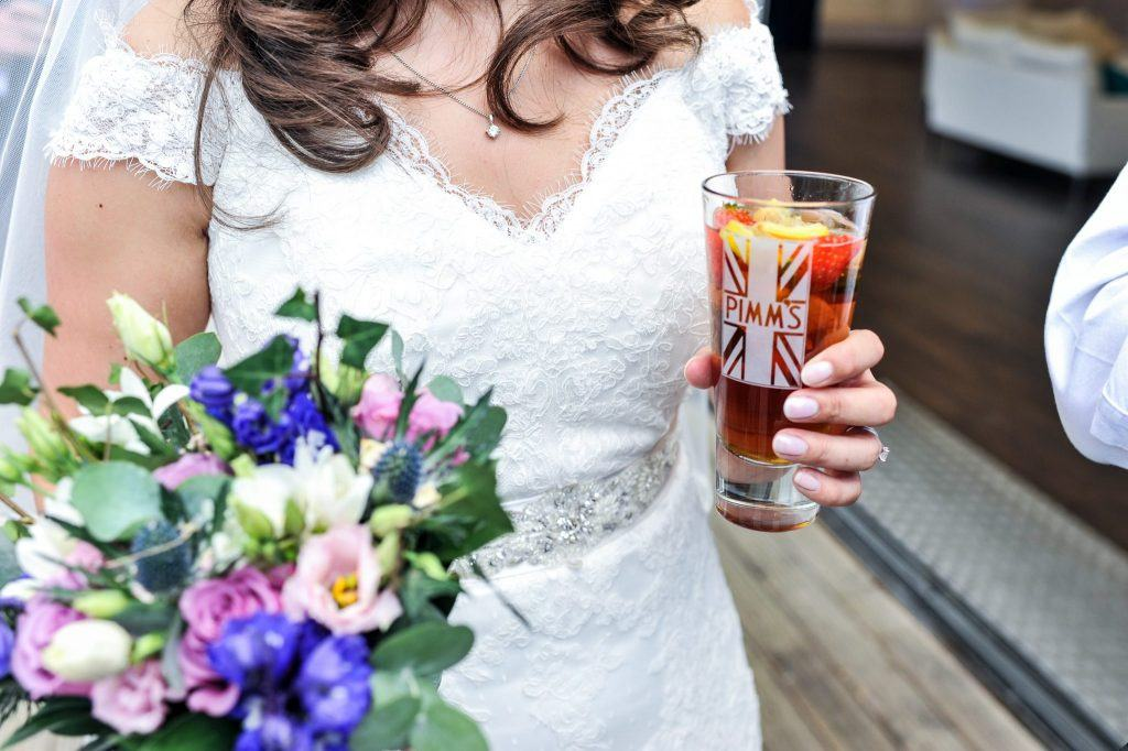 Newlyweds Celebrate at The Conservatory, Painshill Park | Create Weddings