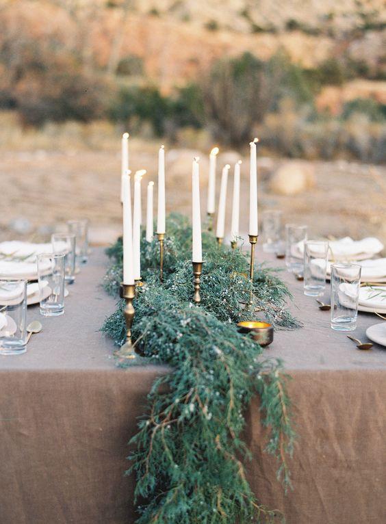 Velvet autumn wedding trend